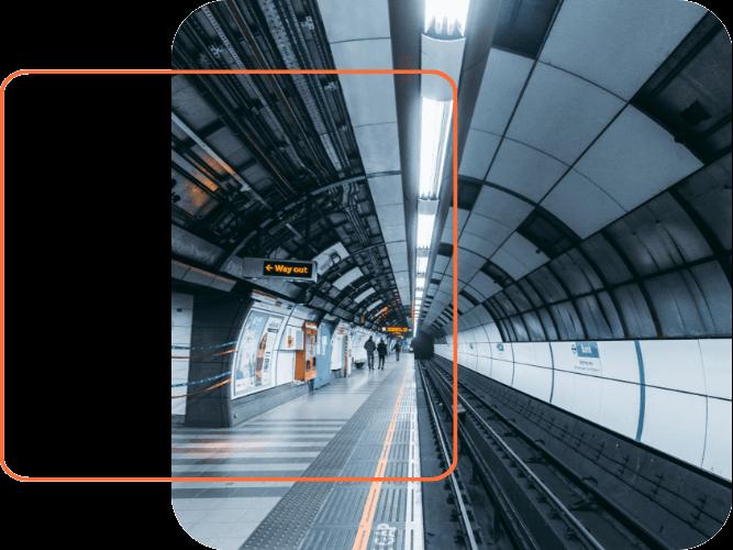 underground station image